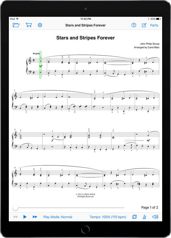 Stars and Stripes Forever – Sousa-Matz