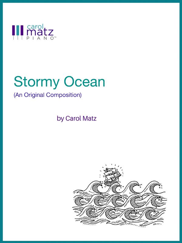 Stormy Ocean by Carol Matz