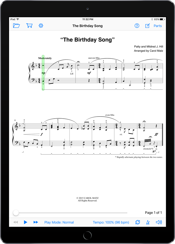 The Birthday Song – Hill-Matz
