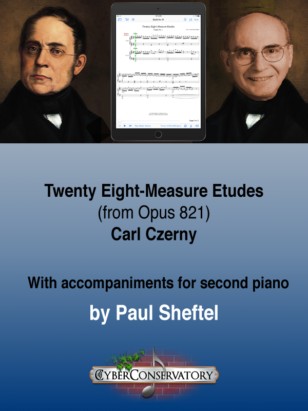 Twenty Eight-Measure Etudes by Carl Czerny
