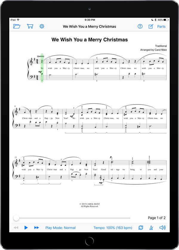 We Wish You a Merry Christmas – Traditional-Matz