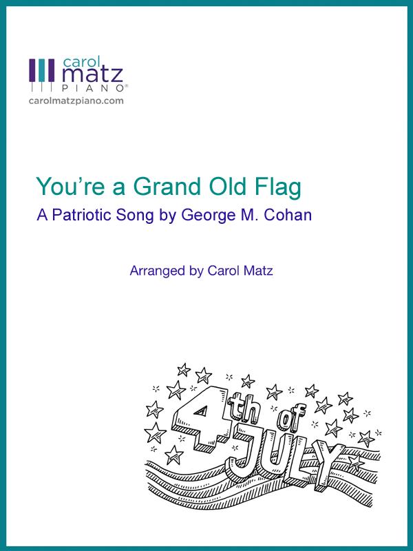 You're a Grand Old Flag - Cohan-Matz