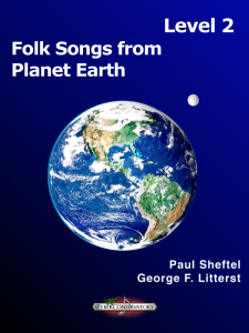 Folk Songs from Planet Earth Level 2 Cover