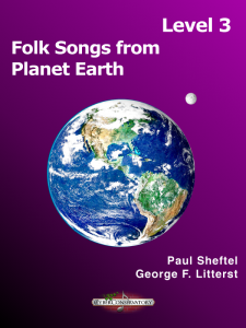 Folk Songs from Planet Earth Level 3 Cover