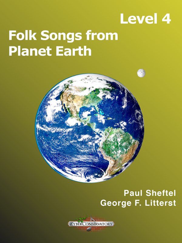 Folk Songs from Planet Earth Level 4 Cover