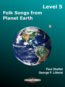 Folk Songs from Planet Earth Level 5 Cover