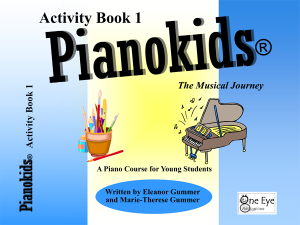 Pianokids Activity Book 1