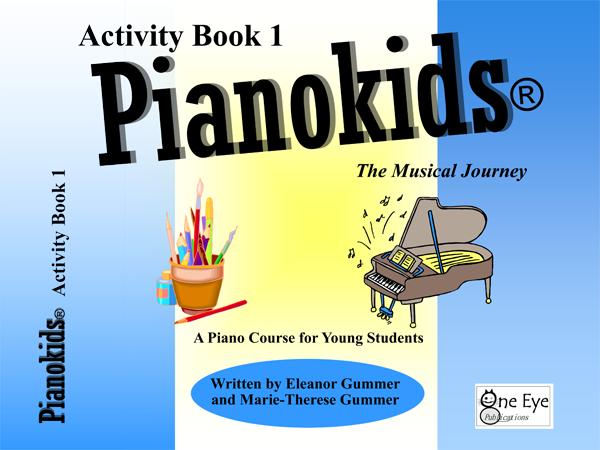 Pianokids Activity Book 1