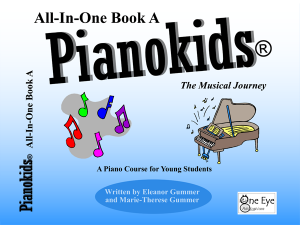 Pianokids® All-In-One Book A