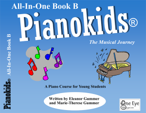 Pianokids All-In-One Book B Cover