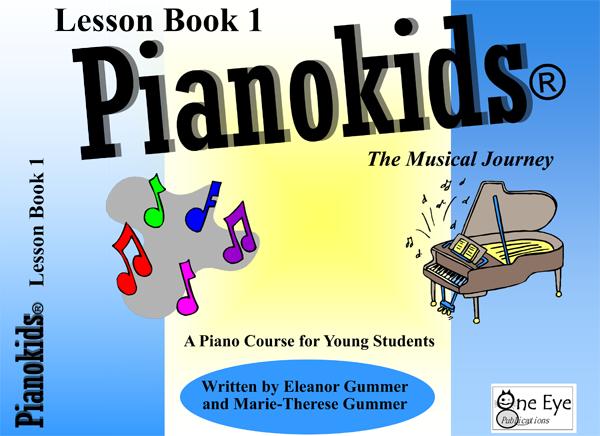 Pianokids Lesson Book 1