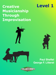 Creative Musicianship Through Improvisation Level 1 Cover