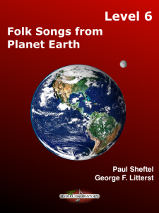 Folk Songs from Planet Earth Level 6 – MIDI Edition