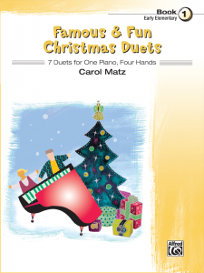 Famous & Fun Christmas Duets Book 1