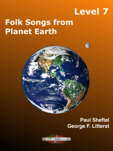 Folk Songs from Planet Earth Level 7 – MIDI Edition