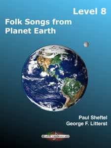 Folk Songs from Planet Earth Level 8 – MIDI Edition