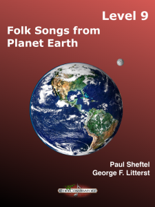 Folk Songs from Planet Earth Level 9 – MIDI Edition