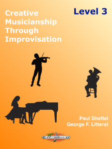 Creative Musicianship Through Improvisation Level 3 Cover