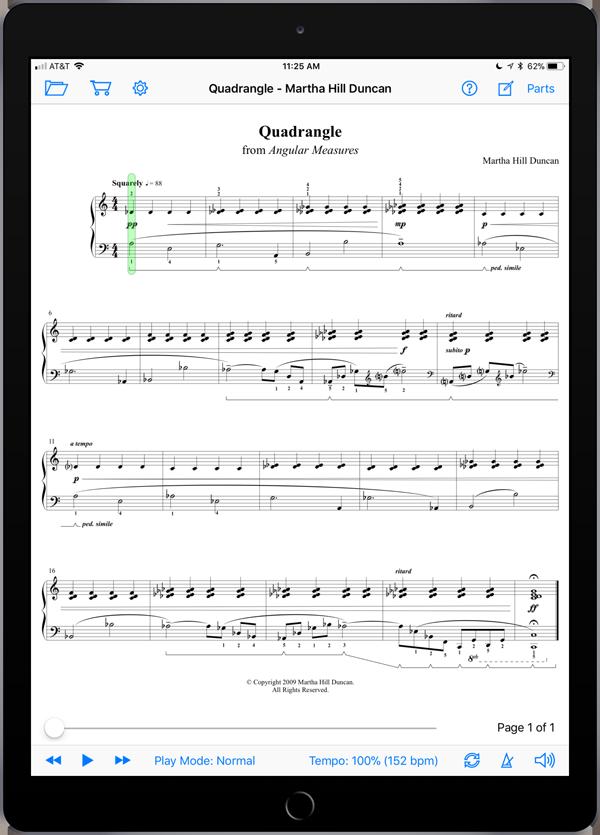 Quadrangle by Martha Hill Duncan