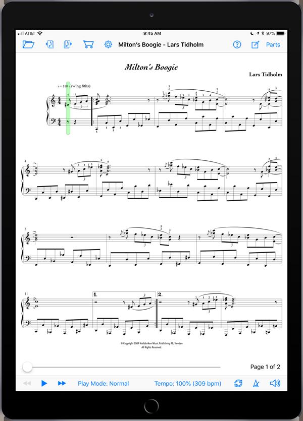 Milton's Boogie by Lars Tidholm