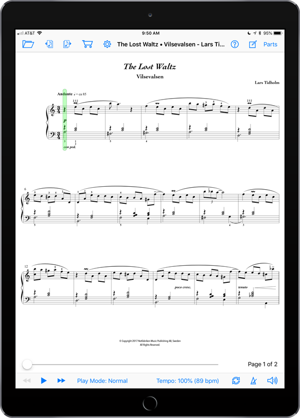 The Lost Waltz • Vilsevalsen by Lars Tidholm