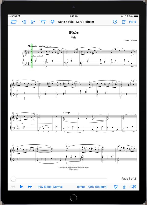 Waltz • Vals by Lars Tidholm