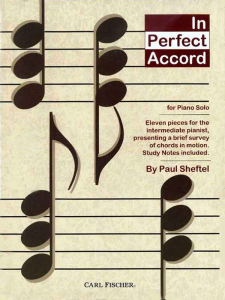 In Perfect Accord by Paul Sheftel