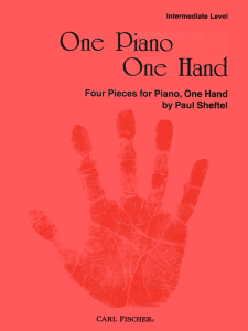 One Piano One Hand by Paul Sheftel-Cover
