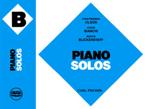 Music Pathways - Piano Solos - Level B
