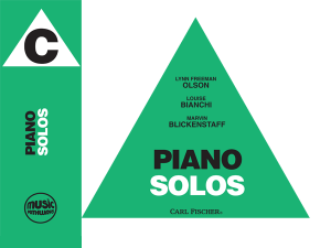 Music Pathways: Piano Solos – Level C