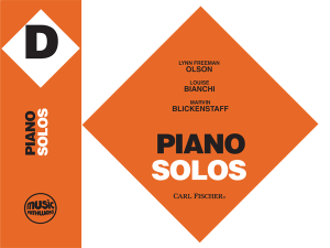 Music Pathways - Piano Solos - Level D