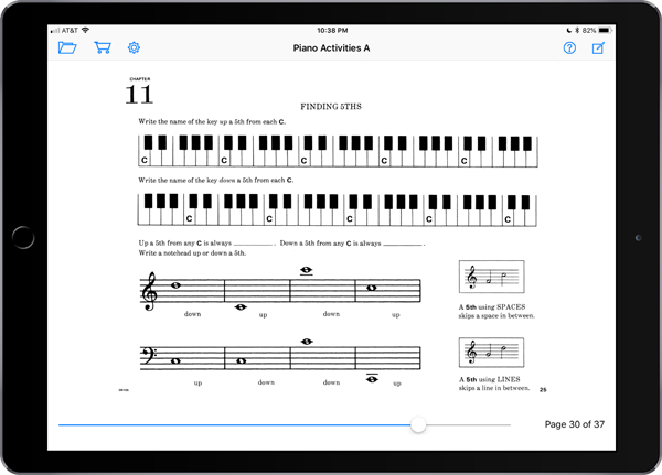 Music Pathways: Piano Activities – Level A