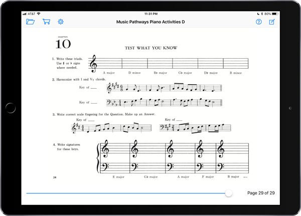 Music Pathways: Piano Activities – Level D