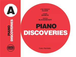 Music Pathways: Piano Discoveries – Level A