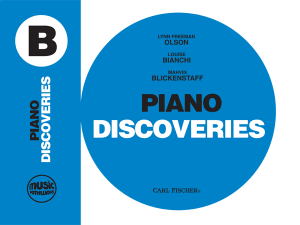 Music Pathways: Piano Discoveries – Level B
