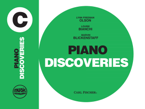 Music Pathways - Piano Discoveries - Level C