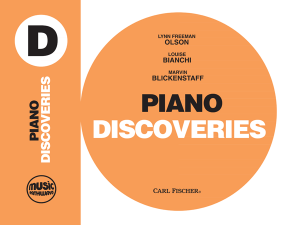 Music Pathways: Piano Discoveries – Level D