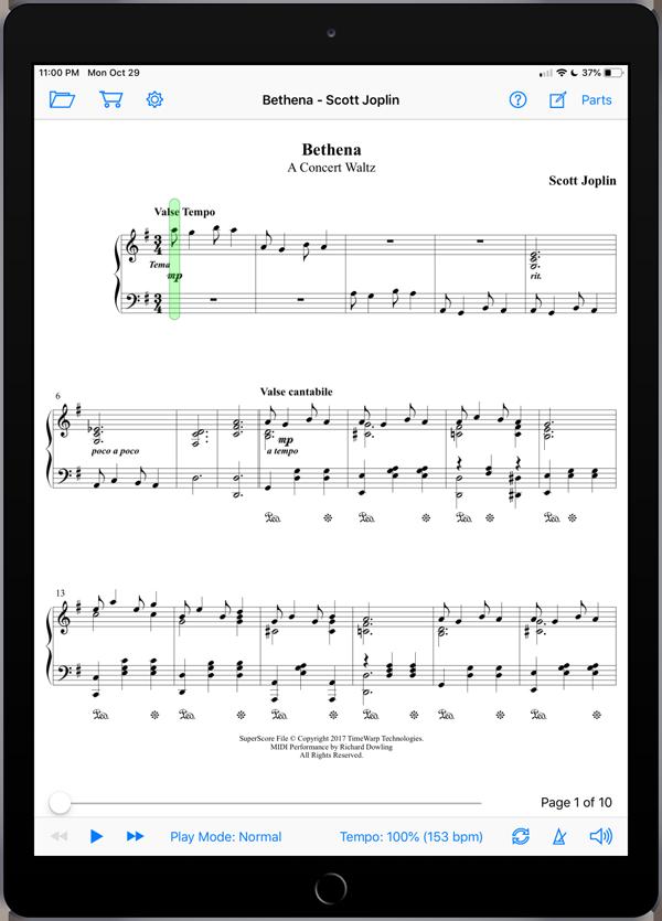 Bethena by Scott Joplin