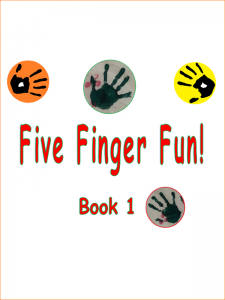 Five Fingers Fun Book 1 Cover