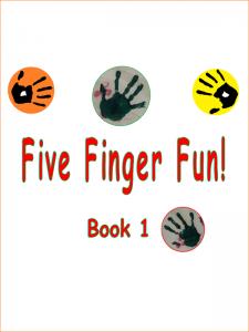 Five Fingers Fun Book 1 Cover