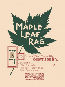Maple Leaf Rag by Scott Joplin Cover