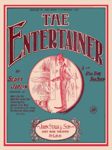 The Entertainer by Scott Joplin Cover