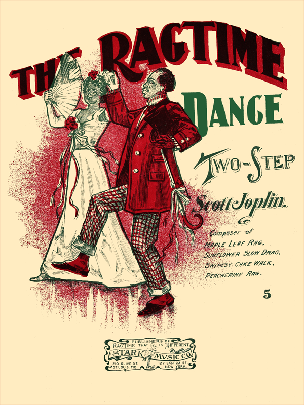 The Ragtime Dance by Scott Joplin Cover