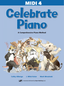 Celebrate Piano 4 MIDI Files