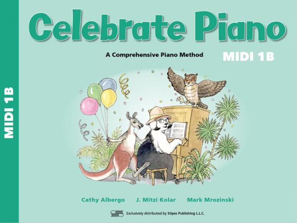 Celebrate Piano 1B Cover