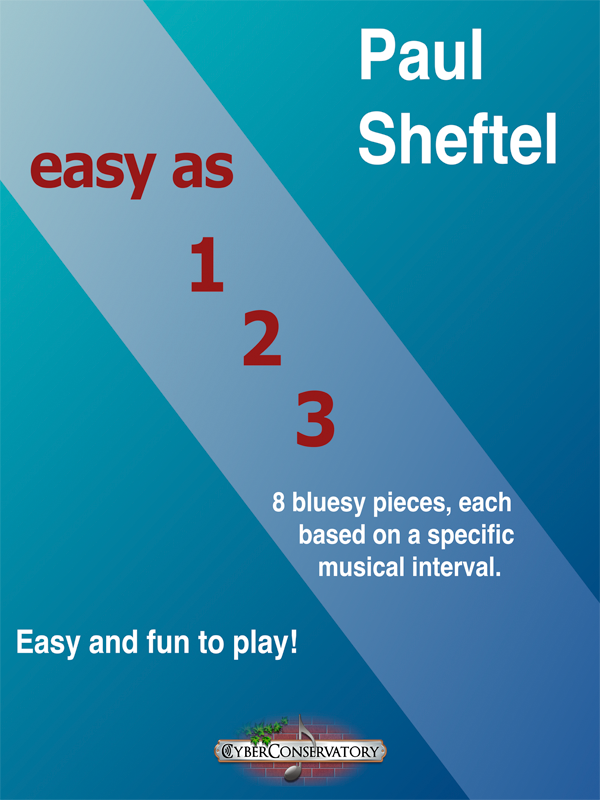 Easy as 1-2-3 by Paul Sheftel-Cover