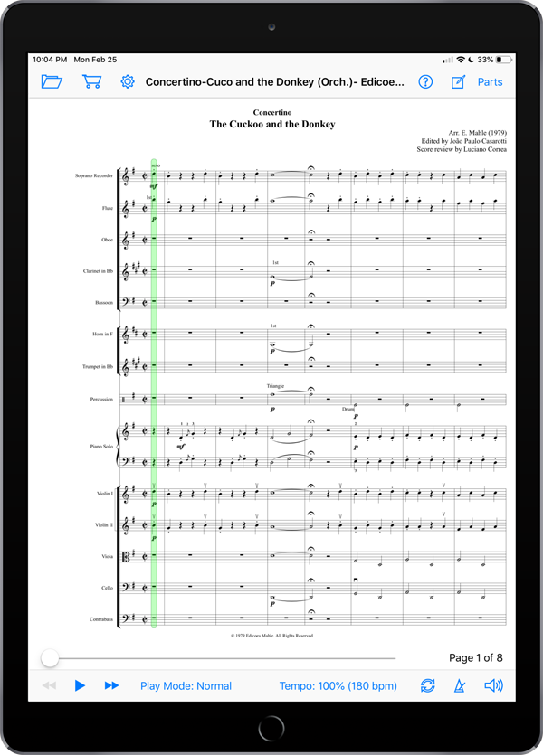Concertino: The Cuckoo and the Donkey by Ernst Mahle