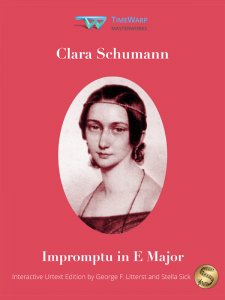 Impromptu in E Major by Clara Schumann Cover