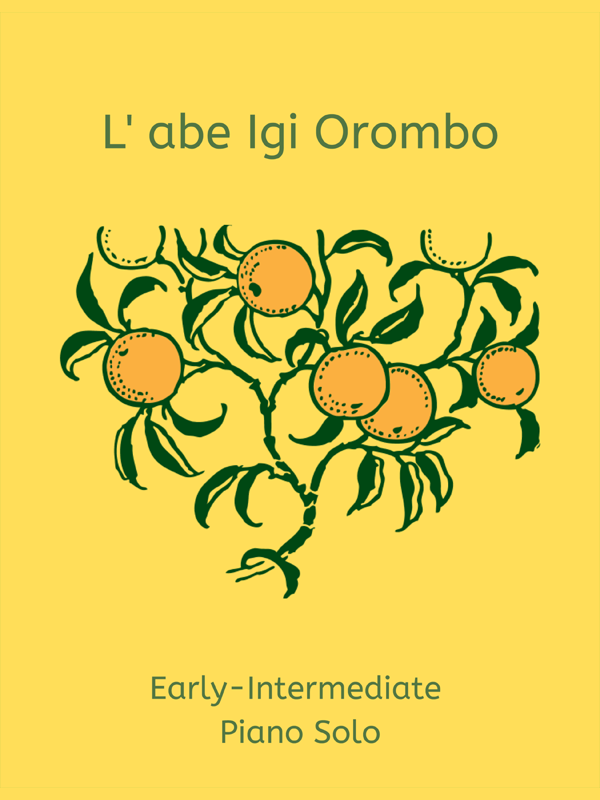 L'abe Igi Orombo arr. by Doreen Hall Cover