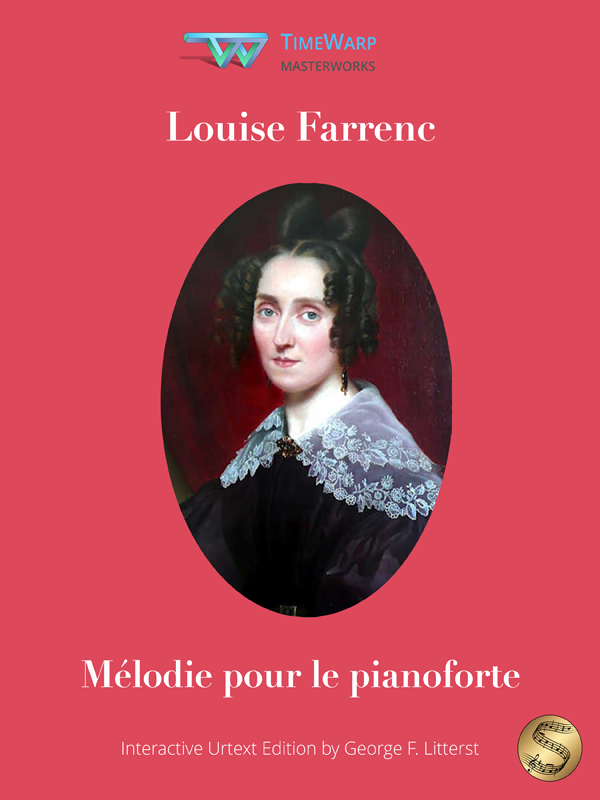 Mélodie pour le pianoforte by Louise Farrenc Cover